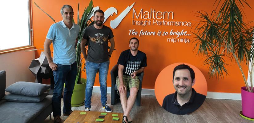 L'équipe de Maltem Insight Performance, pilote de la modalité de formation AFEST